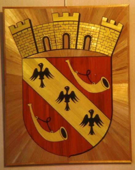Armoiries de St Gengoux le National, Saône et Loire