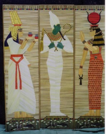 Paravent égyptien