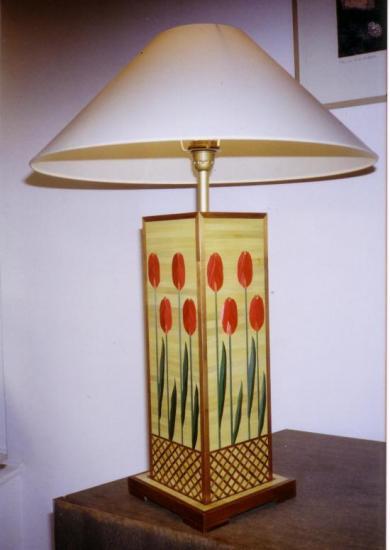 Lampe à poser Les Tulipes