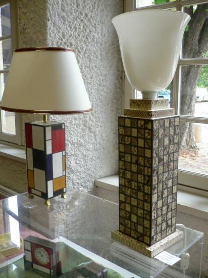 Lampes Mondrian et Python