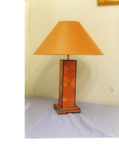 Lampe à poser Soleil orange