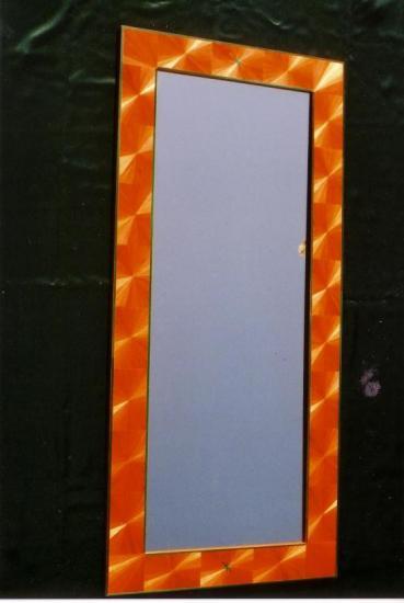 Miroir Eventails oranges