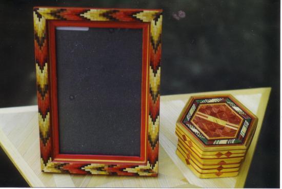 cadre photo et boîte