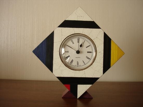 Pendulette Mondrian n° 2